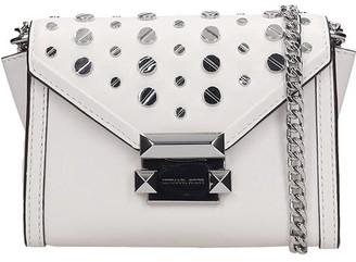 Michael Kors Shoulder Bag In White Leather