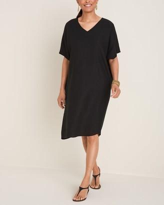 Chico's Linen Tunic Dress