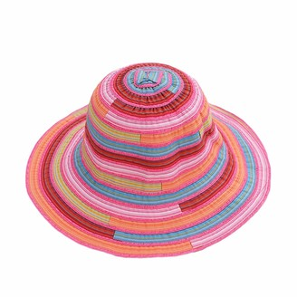MAXGOODS Women's Braided Sun Hat Breathable Anti-UV Beach Straw Cap for Summer Outdoor Travel Vacation Sun Protection