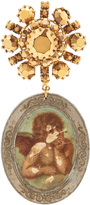 Lulu Frost One-Of-A-Kind Vintage Antique Angelic Brooch
