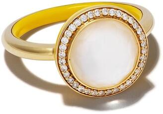 Ippolita 18kt yellow gold Lollipop Carnevale diamond ring