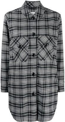 Woolrich Longline Check Shirt