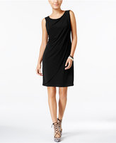 Jessica Simpson Asymmetrical Layered Shift Dress