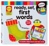 Alex Little Hands ReadySetTouch and Feel Flash CardsFirst Words