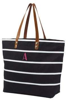 Cathy's Concepts Personalized Oversize Canvas Tote
