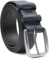 Handmade Leather Belt Blue Gaspard