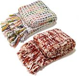 Aura Thick Rope Throw Blanket