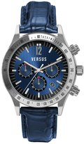 Versus By Versace Versus Women's SGC020012 Cosmopolitan calfskin band watch.