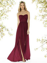 Social Bridesmaids by Dessy - 8159 Dress In Burgundy