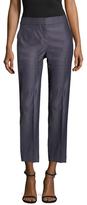 St. John Fil A Fil Cropped Dress Pant