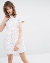 Paul & Joe Sister Dress with Heart Jacquard
