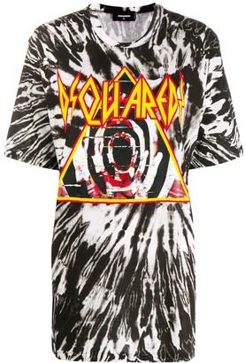 DSQUARED2 tie-dye print T-shirt