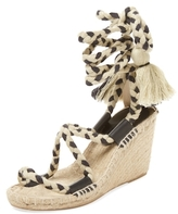 Soludos Rope Lace-Up Espadrille Wedge