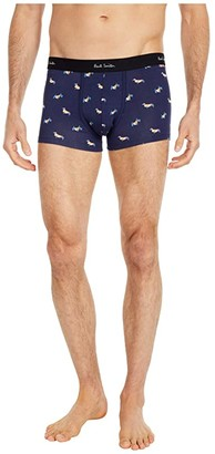 Paul Smith Dogs Trunks (Navy) Men's Underwear
