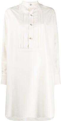 Etro Silk Button-Up Shirt Dress