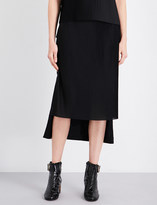 Aalto Pleated-panel woven skirt
