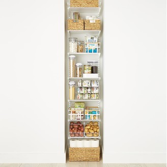 Container Store White Elfa Reach-In Pantry