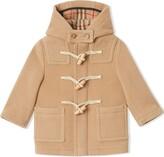 Burberry short duffle coat