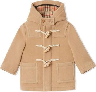 BURBERRY KIDS Short Duffle Coat