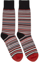 Paul Smith Red Multistripe Socks