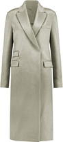 Maison Margiela Embroidered wool-blend coat