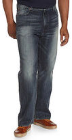 Lucky Brand Blue Gold Dark Wash Jeans - Relaxed Straight 181 Fit