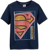 Junk Food Clothing Superman Short Sleeve Tee (Toddler Boys)