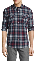 Timberland Woven Long Sleeve Sportshirt
