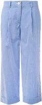P.A.R.O.S.H. striped wide leg trousers - women - Cotton/Polyamide/Spandex/Elastane - XS