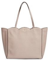 Kate Spade Leewood Place - Rainn Leather Tote - Beige