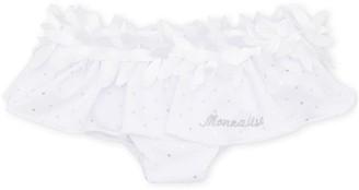 MonnaLisa Polka-Dot Branded Briefs