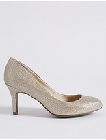 M&S Collection Wide Fit Stiletto Almond Toe Court Shoes