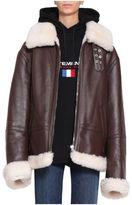 Vetements Shearling Oversized Jacket