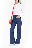 Paul & Joe Flare Embroidered Jeans