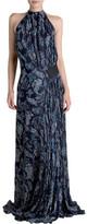 Bianca Spender Abyss Silk Devore Isabella Gown