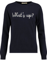 Chinti and Parker What's Up Intarsia Wool And Cashmere-Blend Sweater