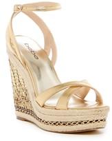 Bebe Zuria Espadrille Wedge Sandal