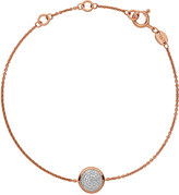 Links of London Diamond Essentials pave rose gold bracelet
