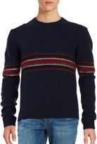 Plac Striped Wool-Blend Sweater