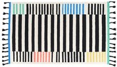 Pottery Barn Kids Margherita Missoni Pop Color Stripes Rug, 3x5 Feet, Multi