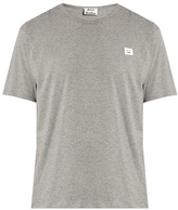 Acne Studios Niagra Face-patch Cotton T-shirt