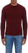 Isaia Men's Cashmere Crewneck Sweater-BURGUNDY