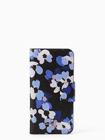 Kate Spade Scattered hydrangea folio iphone 7 case
