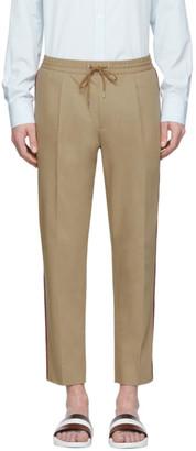 Moncler Tan Cotton Trousers