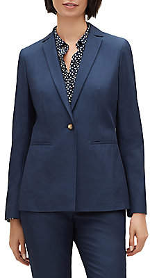 Lafayette 148 New York Women's Sanctuary Cloth Samson Blazer