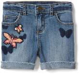 Gap Stretch butterfly midi shorts