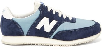 New Balance Comp 100 Suede Trainers - Mens - Navy Multi