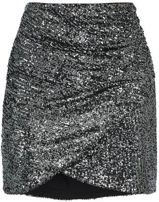 Alice + Olivia Fidela sequin mini skirt