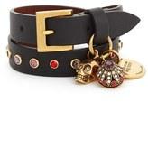 Alexander McQueen Women's Charm Wrap Bracelet