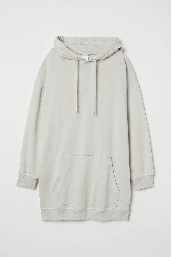 Thumbnail for your product : H&M Long Hoodie - Green